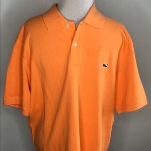Vineyard Vines Orange Polo Shirt